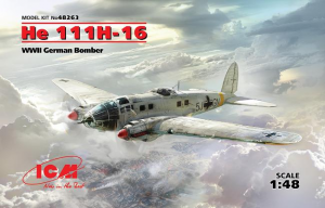 He-111H-16, WWII German Bomber