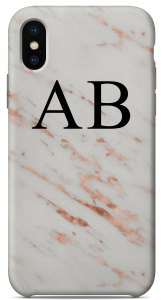 Cover Marble Gold Edition Iniziali Nere