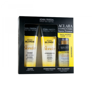 John Frieda Sheer Blonde Go Blonder Lightening Shampoo 250ml Set 3 Parti 2019