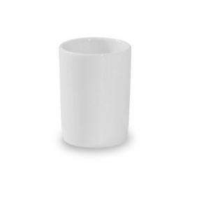 Porta stuzzicadenti cilindrico in porcellana cm.5h diam.3,3