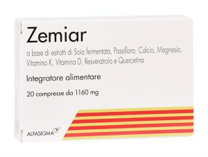 ZEMIAR - INTEGRATORE A BASE DI SOIA UTILE PER CONTRASTARE I DISTURBI DELLA MENOPAUSA