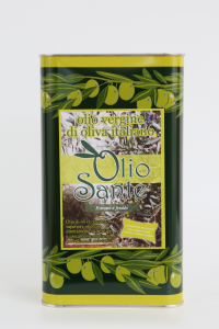Olio vergine Ogliarola 3L 2018/19 - Olio vergine di oliva Pugliese cultivar Ogliarola Sante in Latta da 3 Litri - Terre di Ostuni-2