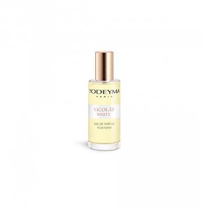 Yodeyma NICOLAS WHITE Eau de Parfum 15ml mini Profumo Donna no tappo no scatola