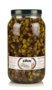 Olive denocciolate di esclusiva varietà Taggiasca sott'Olio Extra Vergine 3100 ml
