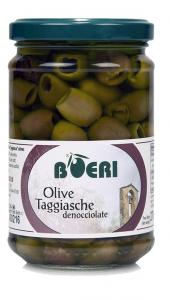 Olive denocciolate di esclusiva varietà Taggiasca sott'Olio Extra Vergine