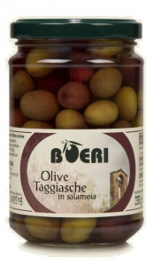 Olive in salamoia di esclusiva varietà Taggiasca