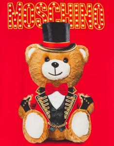 Abito in raso Teddy Circus