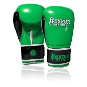 BOXEUR DES RUES BXT-5127 BLACK/GREEN 10 OZ