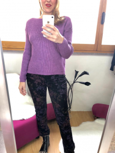 Pantalone stampato oroblu