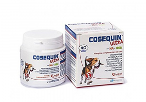 COSEQUIN ULTRA MANGIME COMPLEMENTARE CANI 40 COMPRESSE