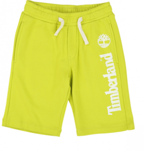 Pantaloncino lime con stampa logo