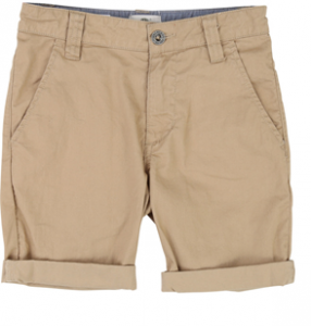 Pantaloncino beige con vita regolabile