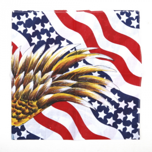 FAZZOLETTO BANDANA USA FLAG + EAGLE
