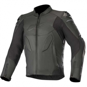 GIACCA MOTO IN PELLE ALPINESTARS CALIBER LEATHER JACKET BLACK COD. 3107319