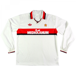 1991-92 Ac Milan Maglia Away L (Top)
