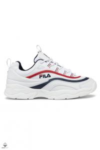 SNEAKERS FILA RAY LOW WMN 1010562.150 WHITE/FILA NAVY/FILA RED