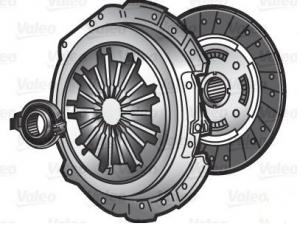 Kit frizione Fiat Grande Punto (199_) 1.3 D Multijet  (VALEO 826706)