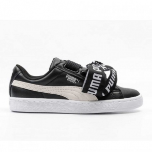 SNEAKERS PUMA BASKET DE WN'S BLACK/WHITE 364082 01