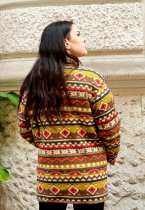 GIACCA VINTAGE IN LANA OVERSIZE ANNI 90