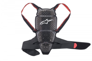 PROTEZIONE PARASCHIENA MOTO ALPINESTARS NUCLEON KR-CELL SMOKE BLACK RED COD. 6504018