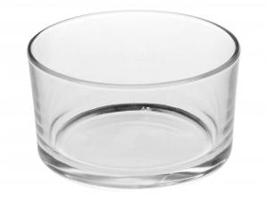 Contenitore vetro per formaggera cm.5h diam.9
