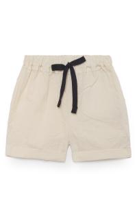 Pantaloncino con vita elasticizzata e laccio