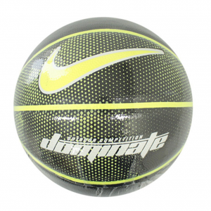 PALLA DA BASKET NIKE DOMINATE 8P BASKETBALL,UNISEX,N.KI.00.044.07,BLACK/VOLT/WHITE/VOLT,07
