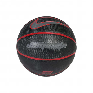 PALLA DA BASKET NIKE DOMINATE 8P BASKETBALL,UNISEX,N.KI.00.019.07,BLACK/UNIVERSITY RED/COOL GREY O7