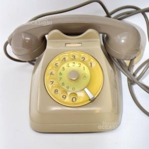 Telefono Grigio Vintage