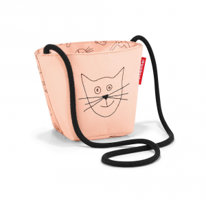 Reisenthel - Minibag Kids - Borsa per bambina con gatto rosa cod. IV3064