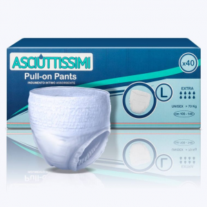 Asciuttissimi Pants Adulto - tg. L - giorno - pacco scorta (40 pz)