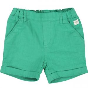 Pantaloncino kiwi in cotone ed elasticizzato