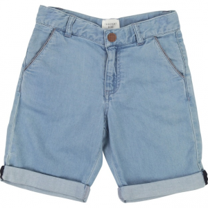 Pantaloncino di jeans blu scuro