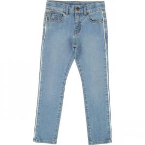 Jeans celesti con vita regolabile