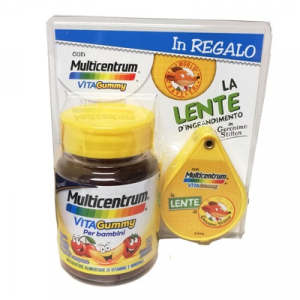 Multicentrum Vitagummy + Lente d'ingrandimento