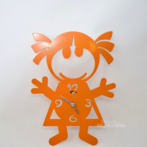 Orologio Bambina Arancione