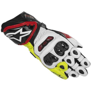 GUANTI MOTO ALPINESTARS GP TECH BLACK RED YELLOW FLUO COD. 3556613