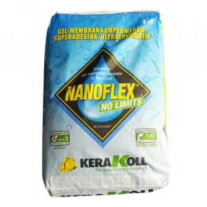 Kerakoll Nanoflex No Limits 20 Kg Gel Membrana Impermeabile
