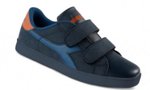 SCARPE DIADORA GAME II V JR 60066 BLUE/ROYAL/ORANGE