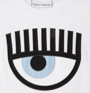 T-shirt bianca Chiara Ferragni