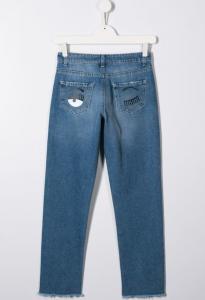 Jeans Logo Chiara Ferragni