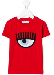 T-shirt rossa Chiara Ferragni