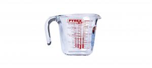 Caraffa graduata Pyrex 500ml cm.11,5h diam.12