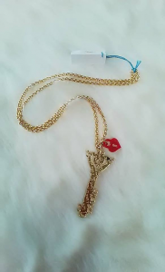 Collana Chiave d'Amore