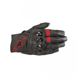 GUANTI MOTO ALPINESTARS CELER V2 BLACK RED FLUO COD. 3567018