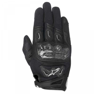 GUANTI MOTO DONNA IN PELLE ALPINESTARS STELLA SMX-2 AIR CARBON V2 GLOVES BLACK COD. 3517717