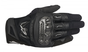 GUANTI MOTO IN PELLE ALPINESTARS SMX-2 AIR CARBON V2 GLOVE BLACK COD. 3567717