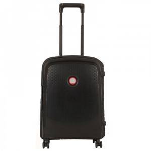 Delsey - Belfort Plus - Trolley da cabina Ryanair 55 cm 4 ruote rigida fibra di carbonio nero cod. 3841804