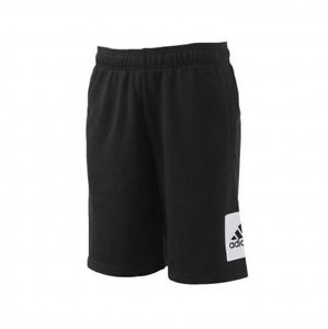 BERMUDA ADIDAS BK7464 ESS LO SHORT FT BLACK/WHITE