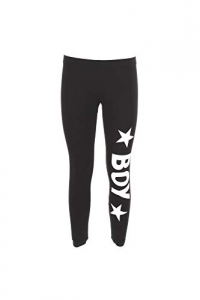 LEGGINS BLACK BOY LONDON +STAMPA BL1015
